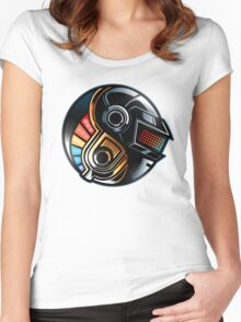 Daft Yin-Yang Women's Fitted Scoop T-Shirt