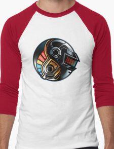 Daft Yin-Yang Men's Baseball ¾ T-Shirt