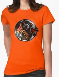 Daft Yin-Yang Womens Fitted T-Shirt