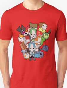 Castle Crasher Knight and Pets Unisex T-Shirt