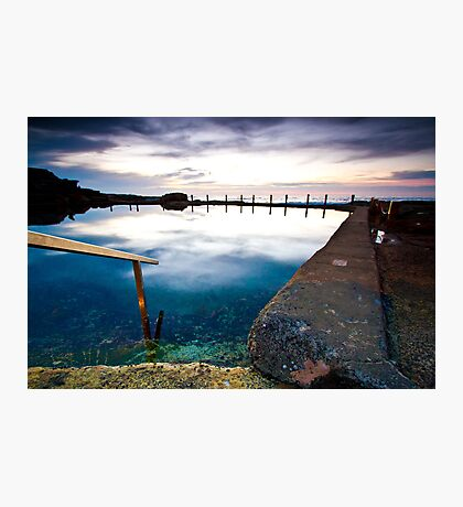 Mahon Pool early winters morning Photographic Print