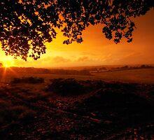 Nomansland Sunset by Rob Hawkins