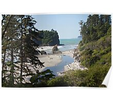 Ruby Beach, Olympic National Park, Washington Coast Poster