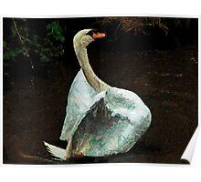 The Papier-Mache Swan Poster