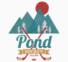 Retro Pond Hockey Kids Clothes