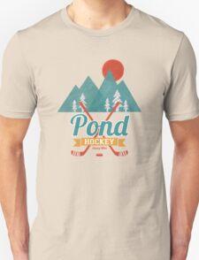 Retro Pond Hockey Unisex T-Shirt