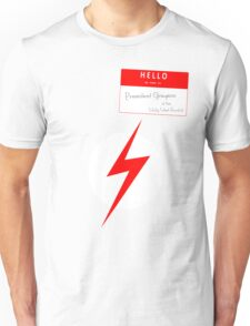 President Grayson of the Wally West Fanclub Unisex T-Shirt