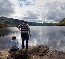 Middle Lake view by Béla Török