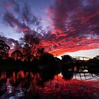 Lake Annand Sunset by Tim Swinson