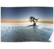 """Singularity"" ∞ Nudgee Beach, QLD - Australia Poster"