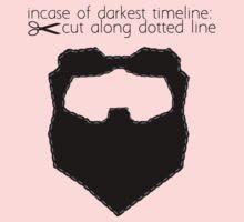Incase of darkest timeline: by jwalkingdesigns