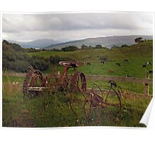 At Sgriob-Ruadh Farm on the Isle of Mull Poster