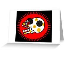 Aztec Skull 1 Greeting Card