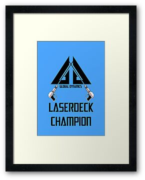 Laserdeck Champion by amanoxford