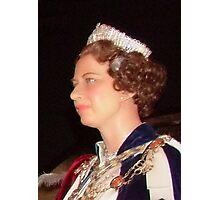 Her Majesty Queen Elizabeth  Photographic Print