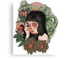 Day of the Dead Girl Canvas Print