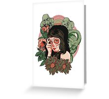 Day of the Dead Girl Greeting Card
