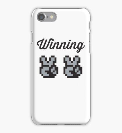 Street Fighter #Winning - B/W iPhone Case/Skin