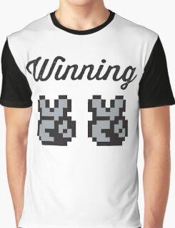 Street Fighter #Winning - B/W Graphic T-Shirt