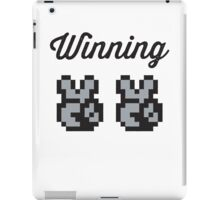 Street Fighter #Winning - B/W iPad Case/Skin