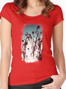 Dry Flowers Women's Fitted Scoop T-Shirt