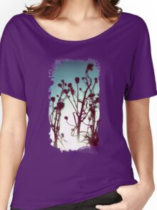 Dry Flowers Women's Relaxed Fit T-Shirt