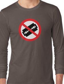 Do Not Hurt Yourself (No Text) Long Sleeve T-Shirt