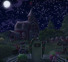 Sweet Apple Acres, Night by Stinkehund