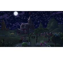 Sweet Apple Acres, Night Photographic Print