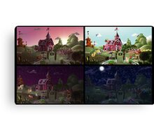 A Day on Sweet Apple Acres Canvas Print