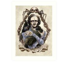 Edgar Allan Poe & Friends Art Print