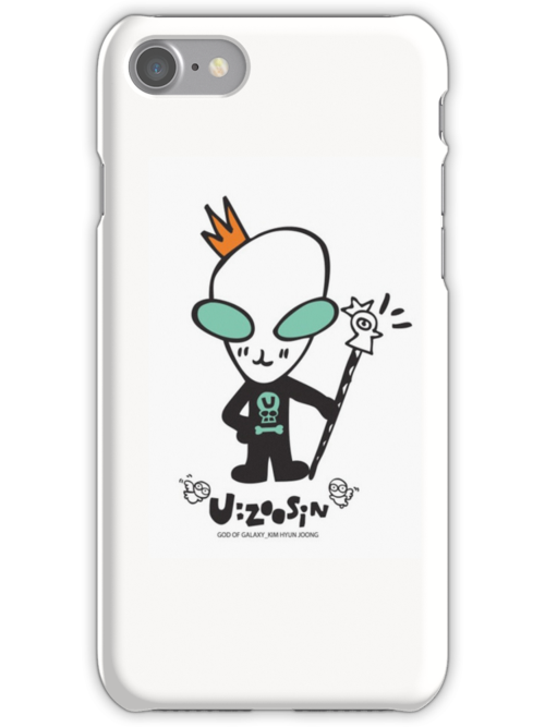 KHJ's U:ZOOSIN plain iphone case by Squishiee
