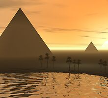 The Giza Necropolis by Phil Perkins