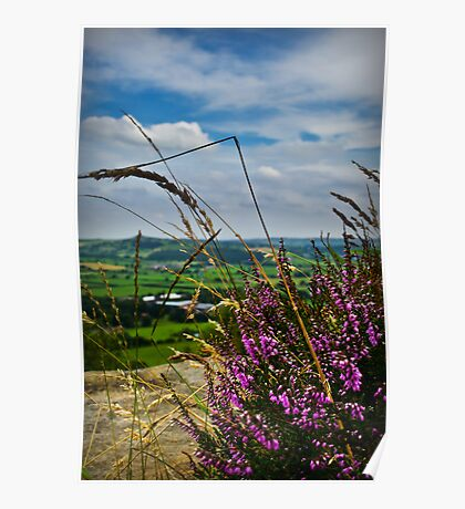 View from Otley Chevin #1 Poster