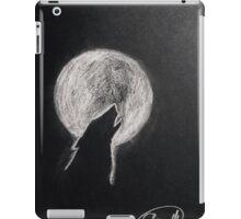 Howling moon iPad Case/Skin
