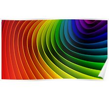 Living with Love Collection: Rainbow Poster