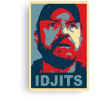 Bobby Singer: Idjits! (Supernatural) Canvas Print