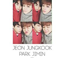 BTS/Bangtan Sonyeondan - Jungkook & Jimin Photocard by skiesofaurora