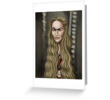 Cersei Lannister Greeting Card
