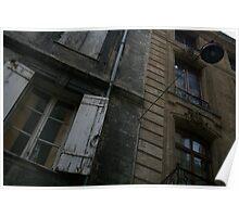 Bordeaux facade Poster