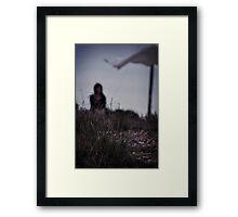 Washing Blues Framed Print
