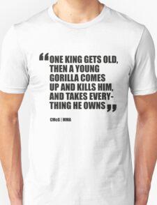 Conor McGregor - Quotes [Gorilla] T-Shirt