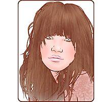 Carly Rae Jepsen Illustration - Original Photographic Print