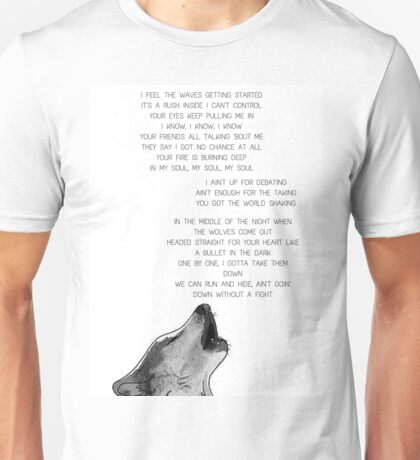 "One Direction  - ""Wolves"" Unisex T-Shirt"