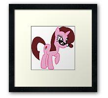 My Little Pony Vector- Nikki Framed Print