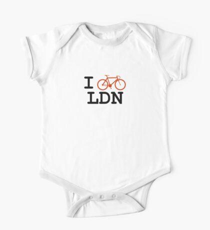 "I ""ride"" London One Piece - Short Sleeve"