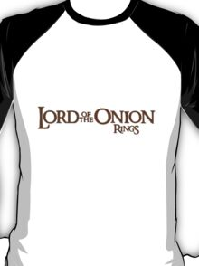 Lord of the Onion Rings T-Shirt