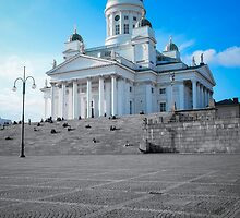Helsinki Cathedral by Sampsa Saari