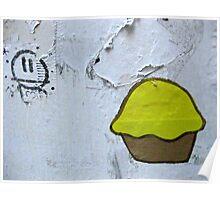 22/8 cupcake love Poster