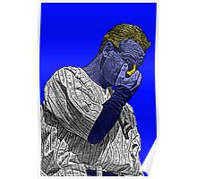 Lou Gehrig New York Yankees Culture Cloth Zinc Collection Poster